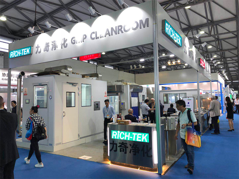 Rich-tek attended CPHI Exhibition in Shanghai, China from 18th to 20th, June 2019