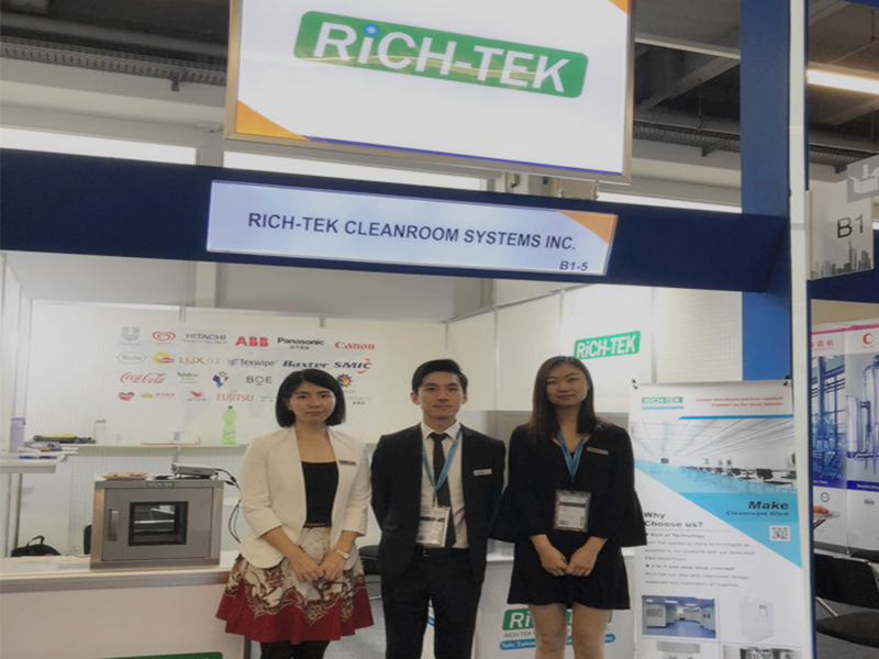 Rich-tek attended ACHEMA Exhibition in Frankfurt, Germany from 11th to 15th, June 2018